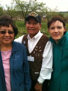 Karen et Harlyn Geronimo!