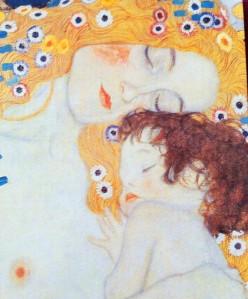 """"""" Les trois âges de la femme """" Klimt"""