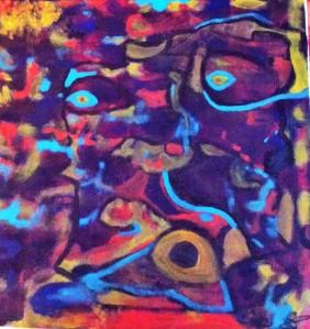 """"""" L'homme-jaguar """" Sandra C."""